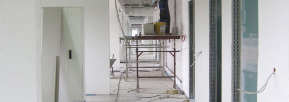 Baustelle Penthouse Büro Complex Aschaffenburg Rhein-Main