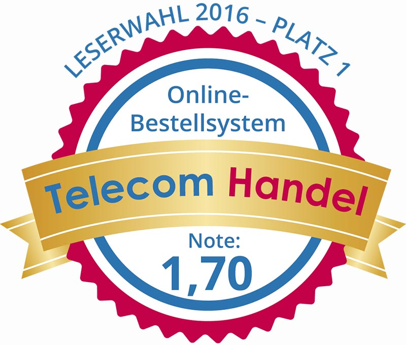 B2B Mobilfunk Portal Platz 1 Distribution Online Bestellsystem