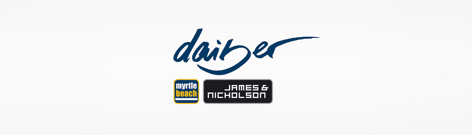 Marken Logo Daiber Log Myrtle Beach James Nicholson