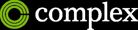 Complex Logo White