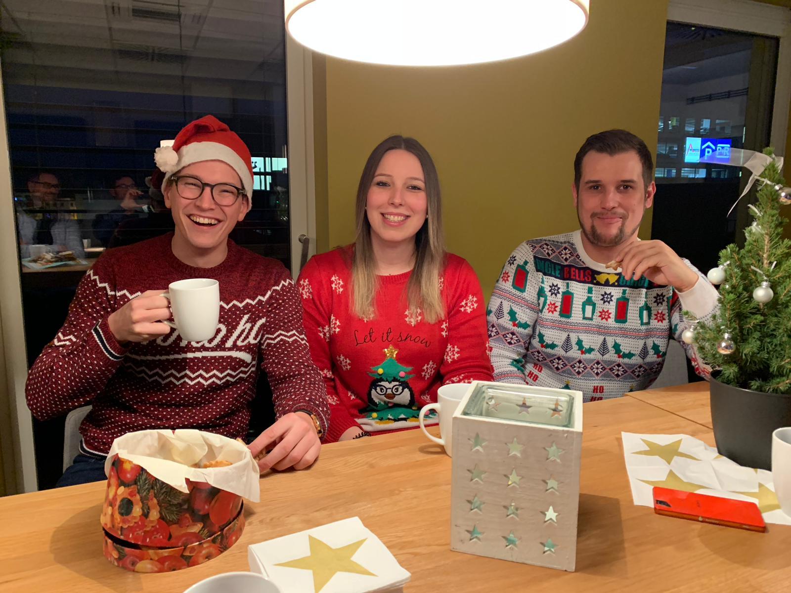 Weihnachtsfeier Complex Aschaffenburg Mitarbeiter Event Feier