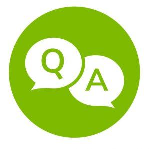 Bild Question Answers Fragen Antworten Empfehlungen Bewerber Illustration Grafik