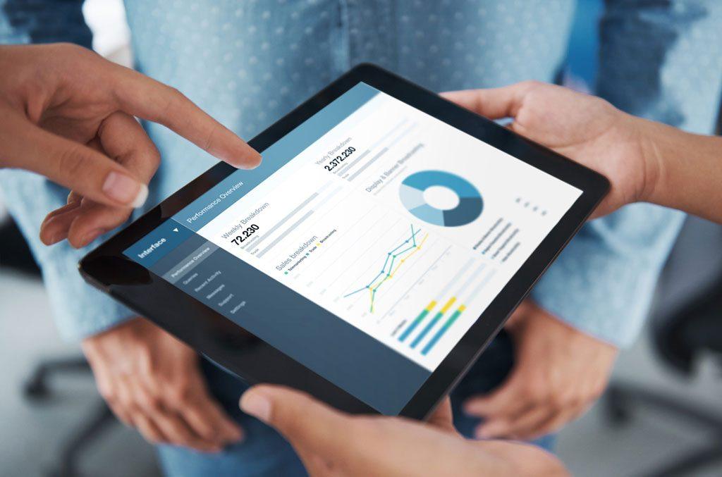Meeting Analyse Tablet Mitarbeiter