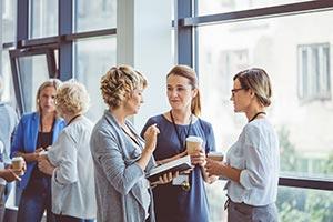 Convention Technik Weiterbilung Complex Meeting Leute Treffen