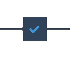 Icon Eingang Bestätigung Checkmark