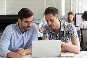 Complex Fortbildung Weiterbildung Laptop Team