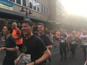 Hypolauf Menschen Marathon Firmenevent