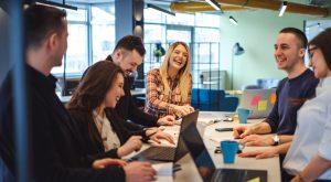 Team Meeting Moderne Offene Teamarbeit Lernkultur