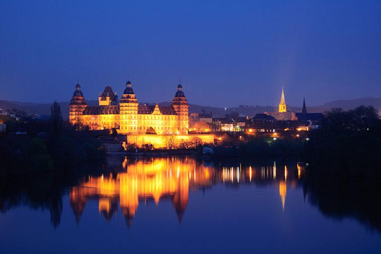 Aschaffenburg Unsere Region Bild Nacht