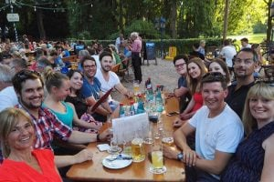 Unsere Events Firmenevent Biergarten Team Complex