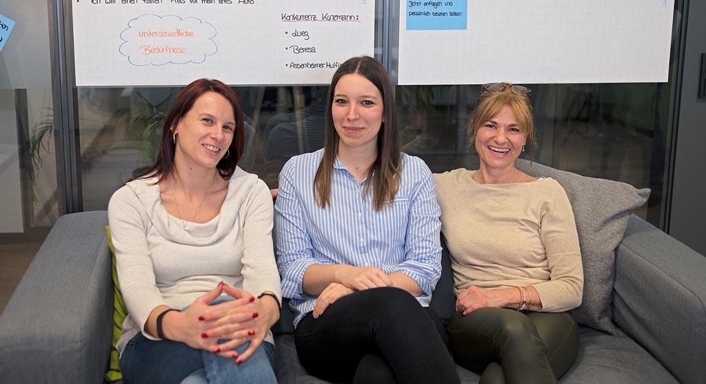 Mitarbeiterinnen Frauen bei complex