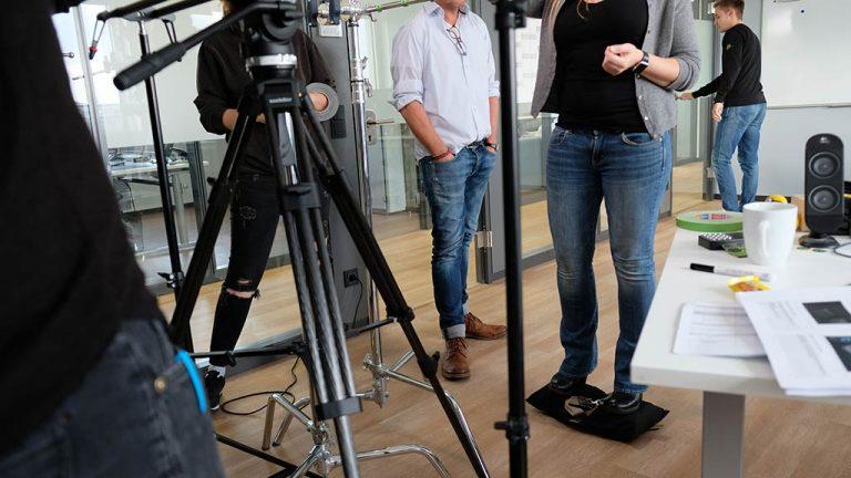 Unternehmensvideo-Drehtag-making-of bild 9