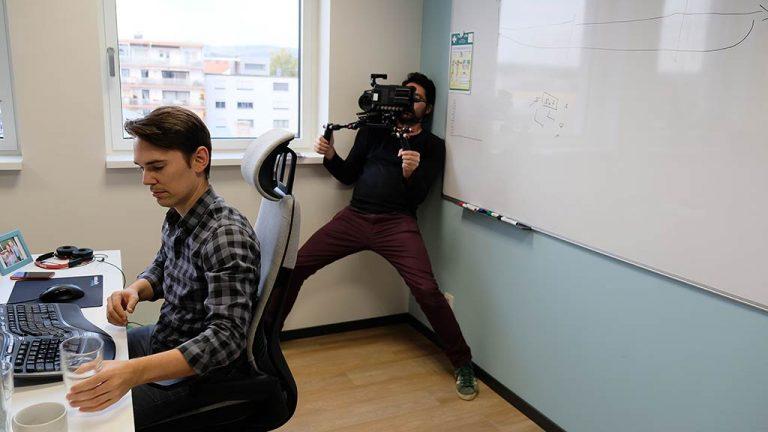 Unternehmensvideo-Drehtag-making-of bild 3