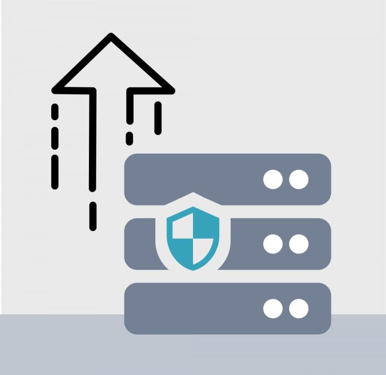 home-office-server-uptime-vpn-data-security-datenschutz