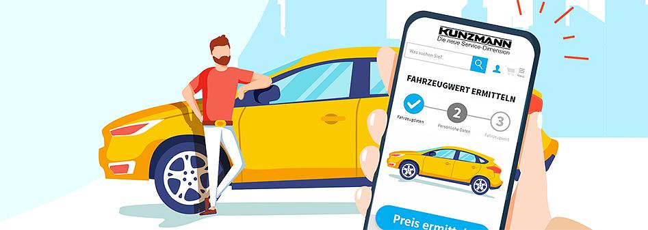 Online Fahrzeugpreisbewertung